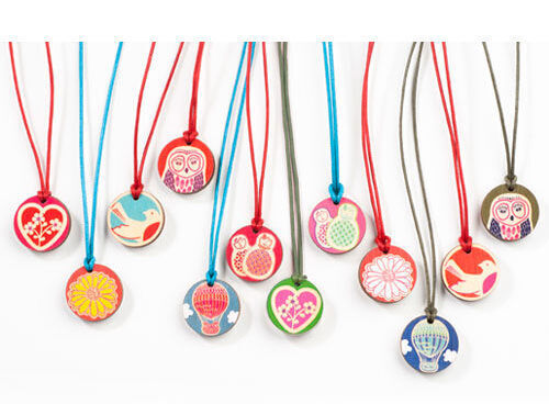 Polli necklaces for little girls