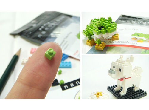Nanoblocks mini building blocks