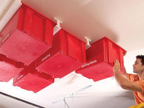 Christmas storage - ceiling storage boxes
