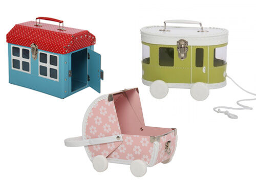 BoBangles pram, trolley and house suitcases