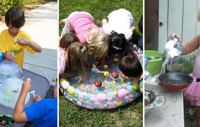 Kids summer activities to keep cool