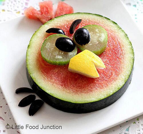 Keeping kids cool - fruit art