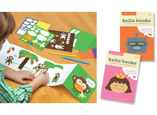 "Hello Hannah 'Hello Books"" ... create-your-own book kits"