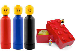 LEGO Lunch Box & Drink Bottle