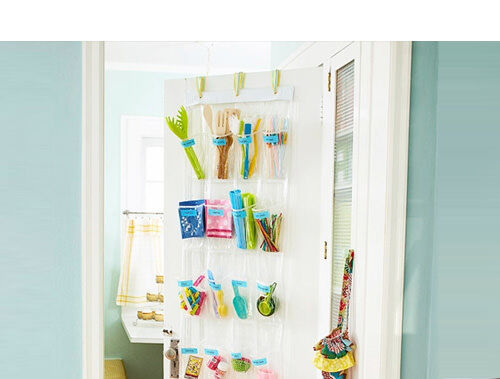 Use a shoe organiser as a pantry organiser