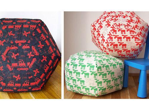 Mookah floor cushions