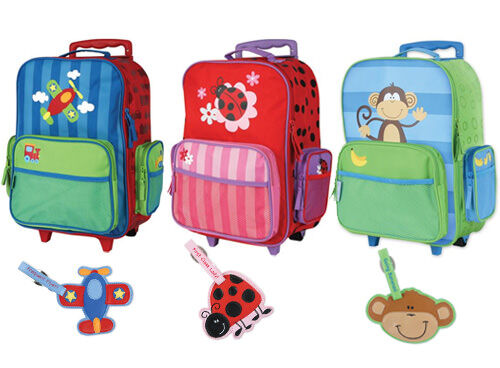 Stephen Joseph rolling luggage - kids' suitcases