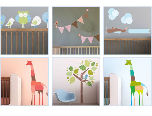 Trendy Peas children's wall decals