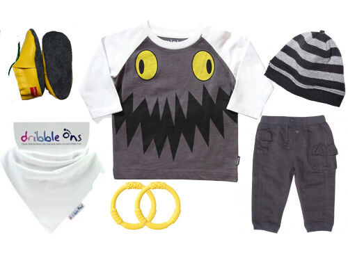 Baby boy outfit - Munster Baby