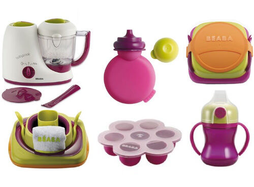 BEABA baby food cooking and feeding accessories