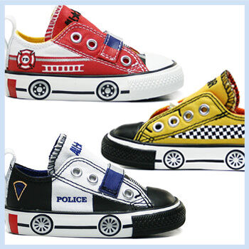 Converse Fire Truck Police Car And Taxi Sneakers