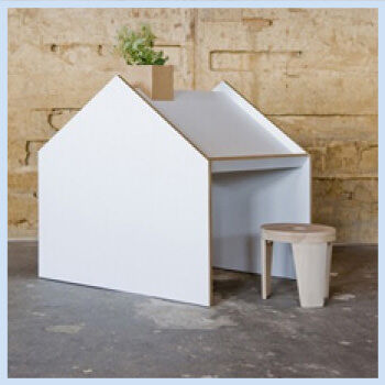 Desk House by Nine To Nine