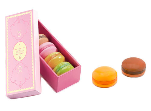 Djeco wooden macarons