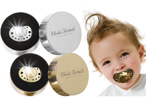 Elodie Details Gold And Silver Dummies Pacifiers