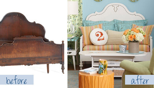 Furniture makeovers: before and after