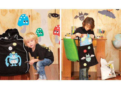 Monster Couture - wall stickers, beanbags and bags