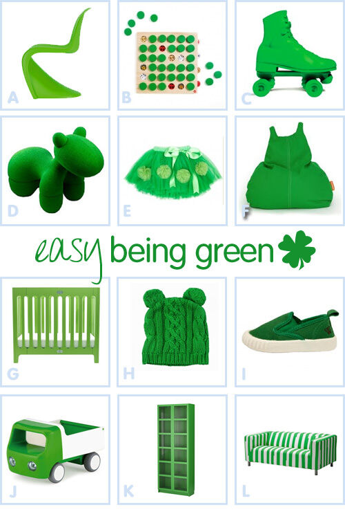 Easy being green - St Patrick's Day 2012