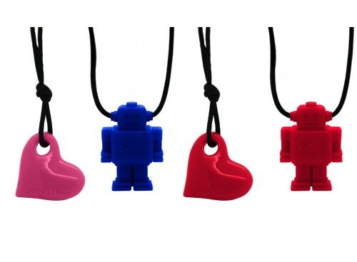 Jellystone Junior chewable silicone necklaces