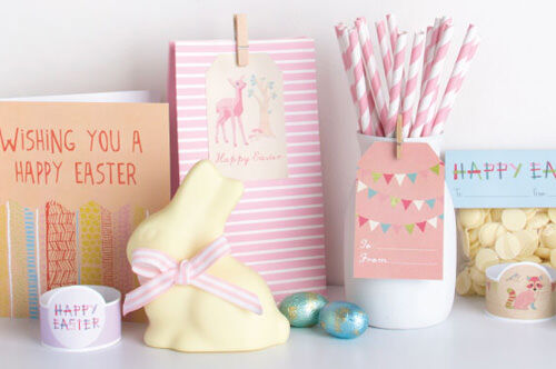 Easter crafts - free printables