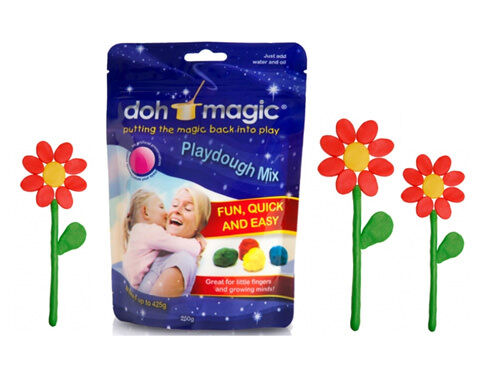 Doh Magic playdough mix