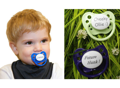 Name Your Dummy - personalised dummies & pacifiers