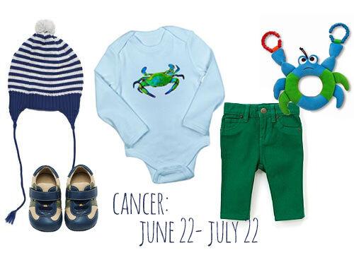 Boys Cancerian birthday outfit June 2012