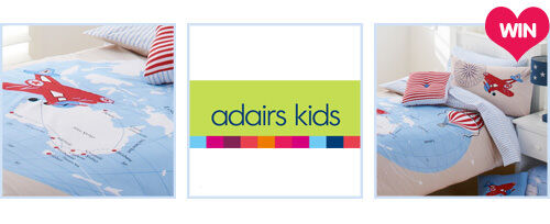 WIN a bedlinen pack from Adairs Kids valued at $260!
