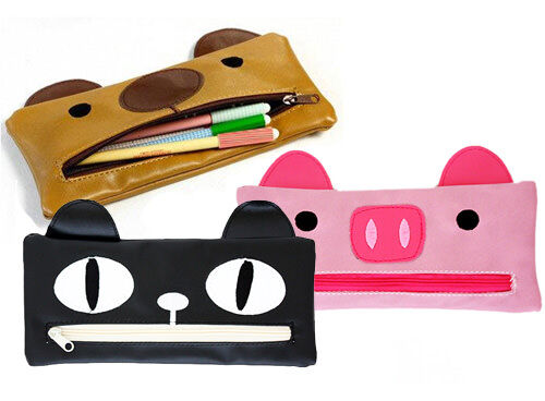 Big Mouth animal pencil cases
