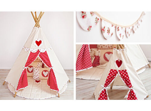 Henry's House girls' tepee