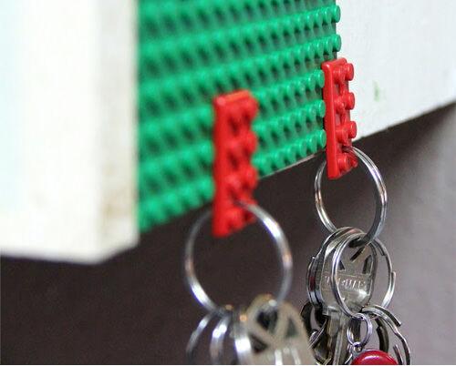 LEGO keychain holder