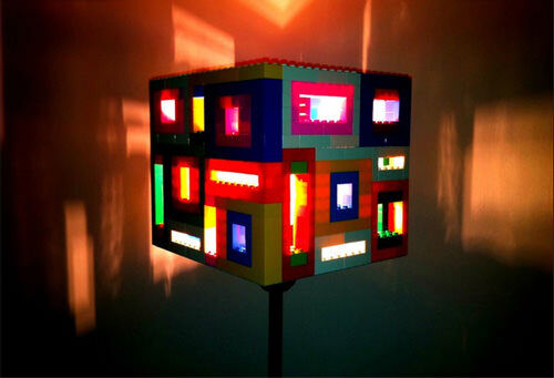 15 things to make with lego make a lampshade lego lampshade aloadofball Choice Image