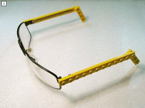 LEGO glasses repair