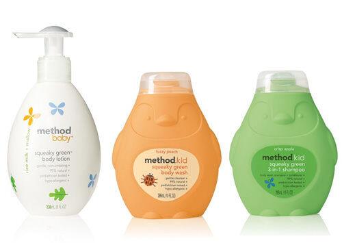 Method kids' and babies' skincare