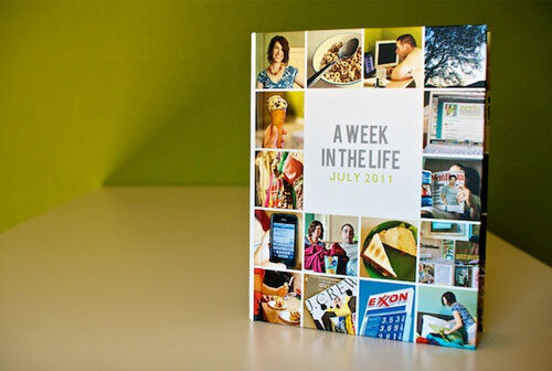 Photobook ideas: A week in the life