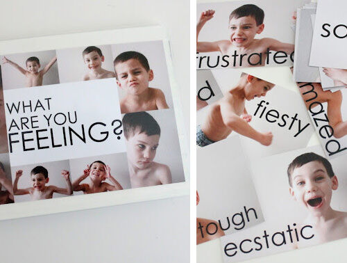Photobook ideas: feelings book