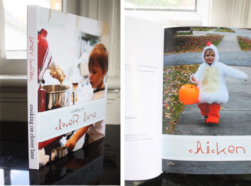 Photo book ideas: family recipe book