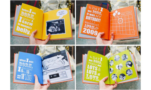 Photobook ideas: on the day I was born