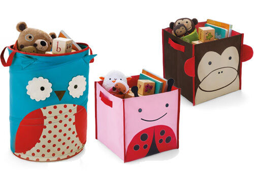 New Skip Hip Zoo storage tubs and luggage