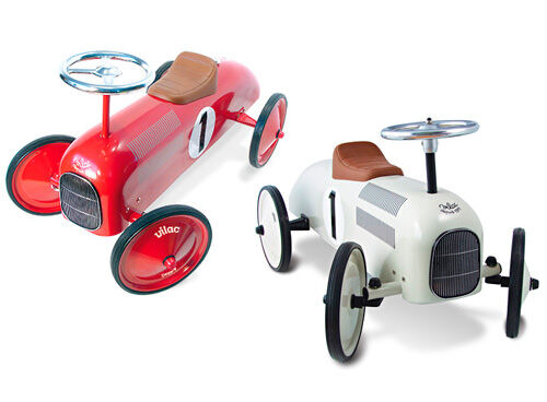 Vilac classic metal ride-on cars