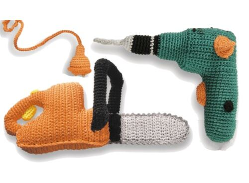 Donkey Products knitted toy tools