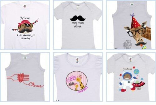 Spatz Personalized Kids Shirts