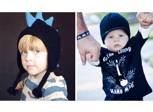Born To Love boys' beanies, hats and Fedoras