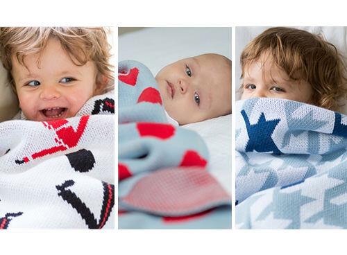 Little Bonbon cot blankets