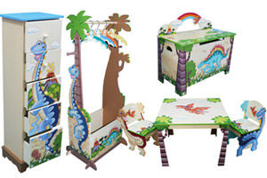 Team Dinosaurs themed furniture