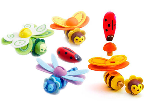 Djeco Insect Assembly play sets