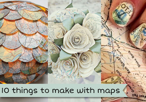 cool things to make with maps