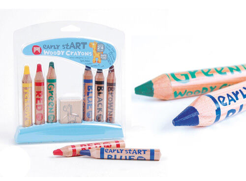 Micador early stART woody crayons