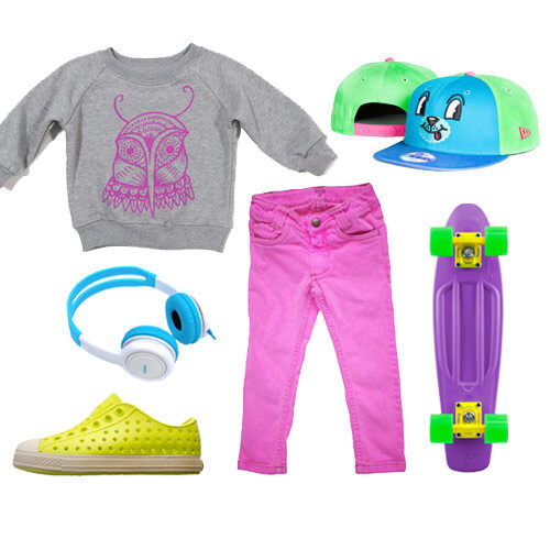 Girls Outfit Neon