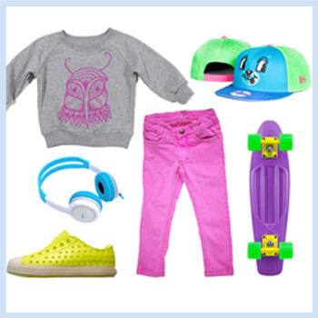 Girls Neon Outfit