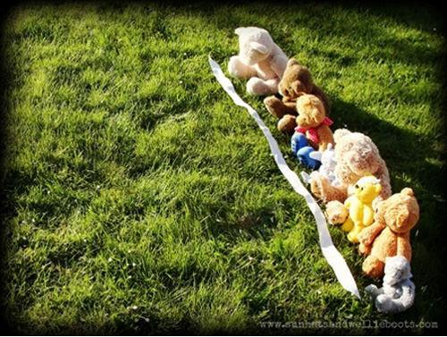 Olympics games for kids: Teddy bear Olympics